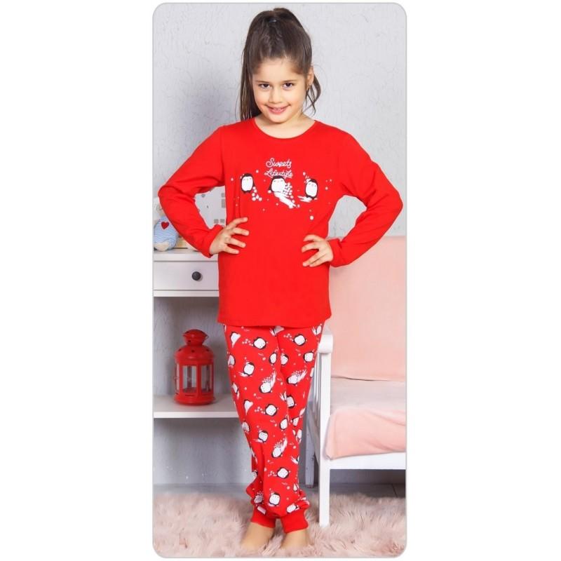 762c88adf1e5 Dětské pyžamo dlouhé Tři tučňáci