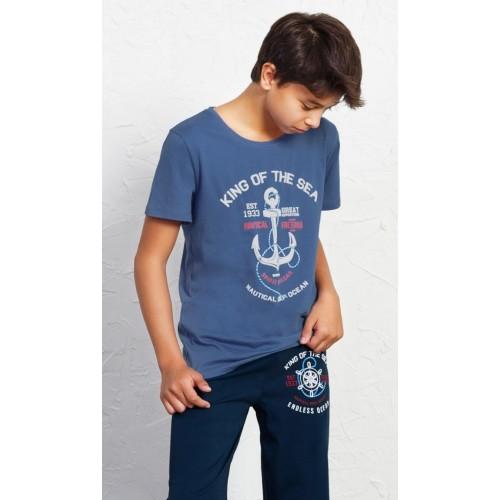 Dětské pyžamo kapri Velká kotva