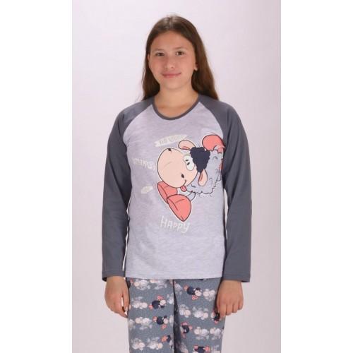 Dětské pyžamo dlouhé Ovce Happy