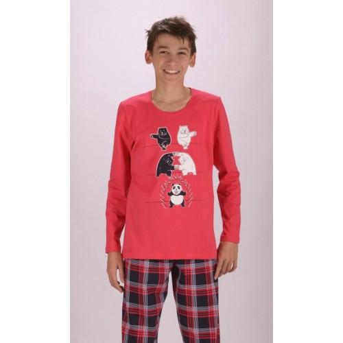 Dětské pyžamo dlouhé Panda