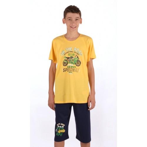 Dětské pyžamo kapri Motorka