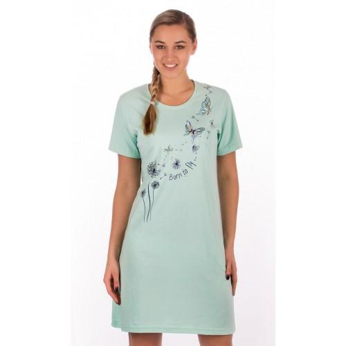 Dámská noční košile s krátkým rukávem Pampelišky