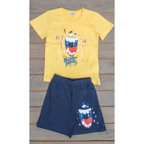 Dětské pyžamo šortky Monster