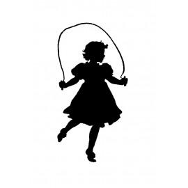 Dívčí noční košile s krátkým rukávem